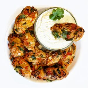 chicken kebabs healthy baked in the oven