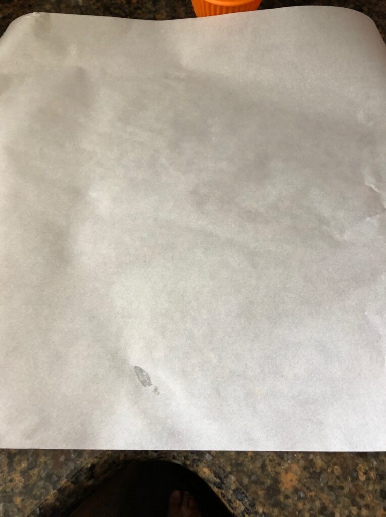 Parchment paper for halibut with almond crust and garlic herb butter easy fish recipe