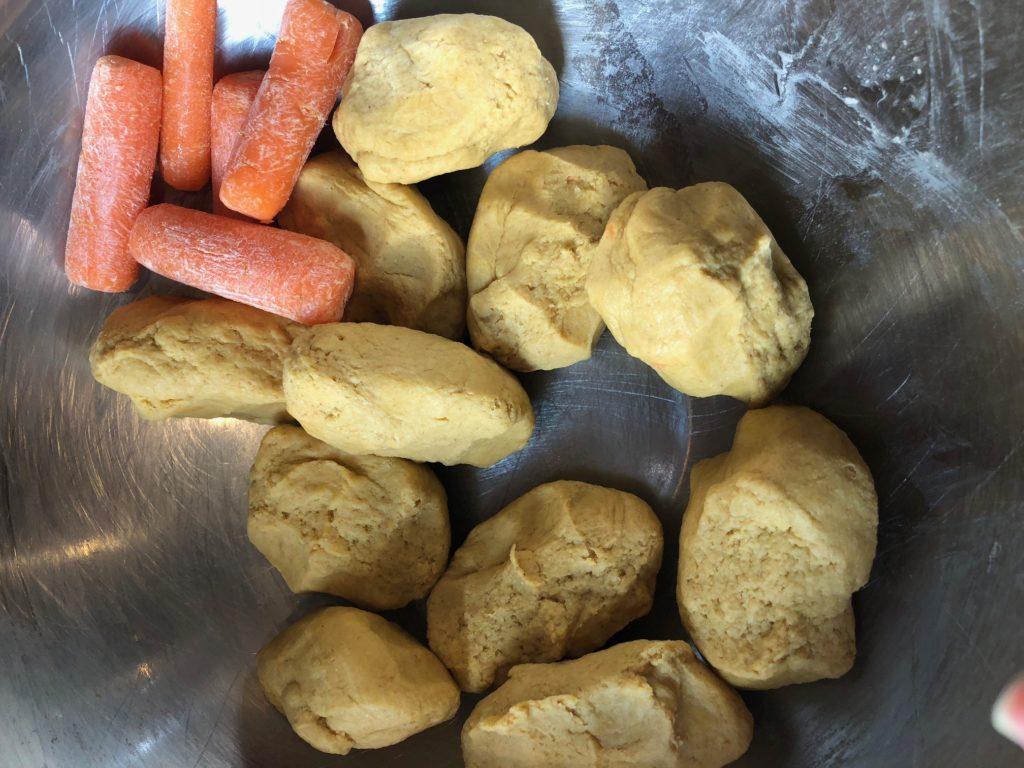 carrot roti