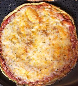 spinach dough pizza
