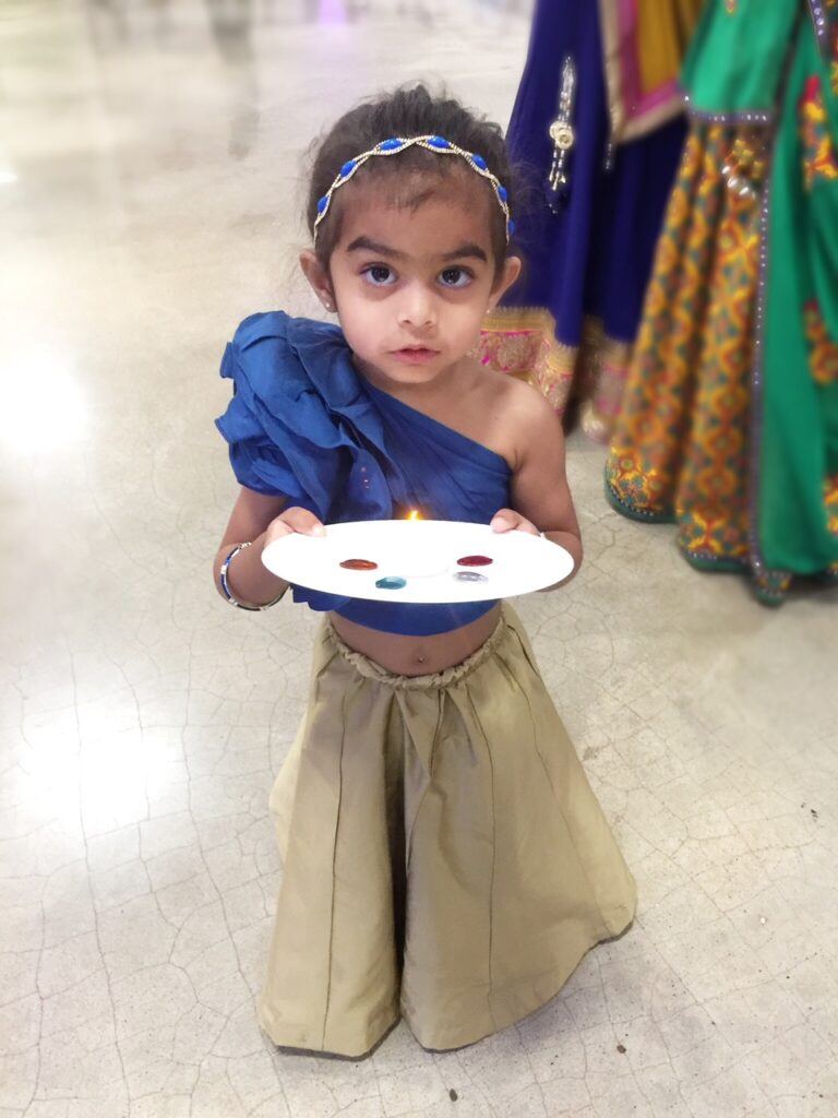 Little Girl Navratri