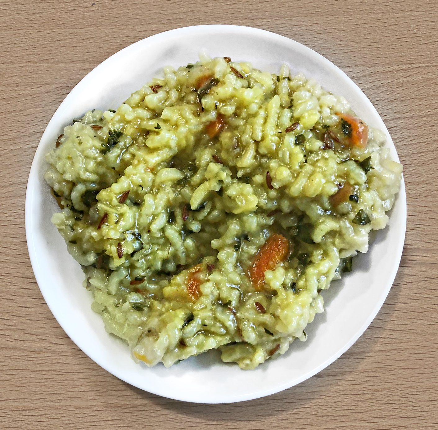 baby kichdi rice nad mung dal vegetable dish for kids