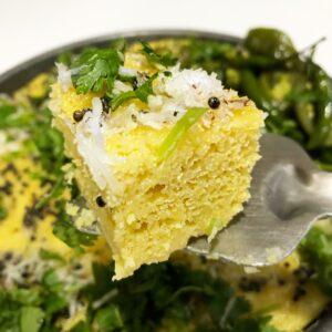 the curry mommy surati khaman recipe authentic surat india recipe chick peas