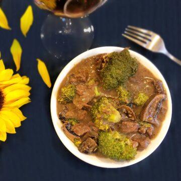 pot roast with broccoli