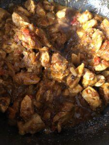 Bell Pepper Chicken Curry