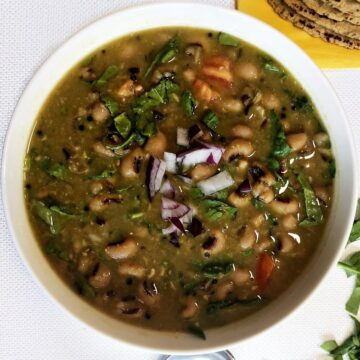 black eyed peas curry recipe new years day lobhia curry new years black eyed peas and greens