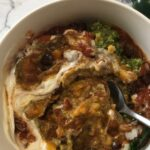 The Curry Mommy vegetarian chili with slow cooker and instant pot recipe