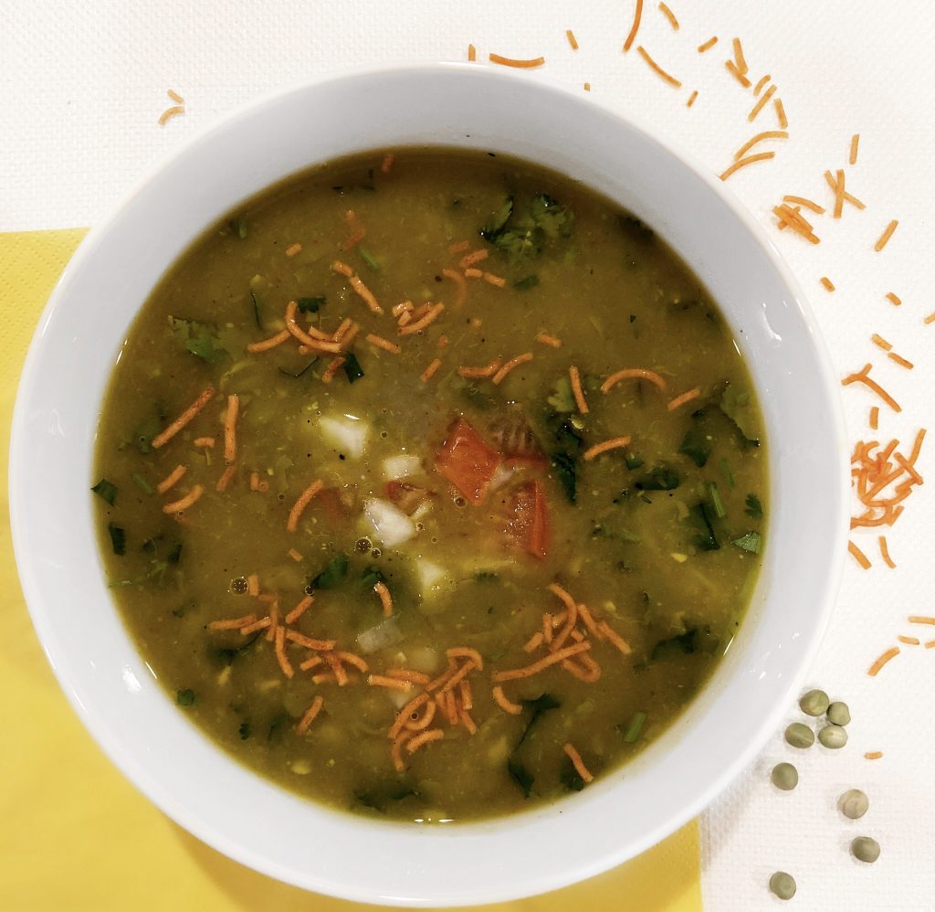 Pea Soup by The Curry Mommy
