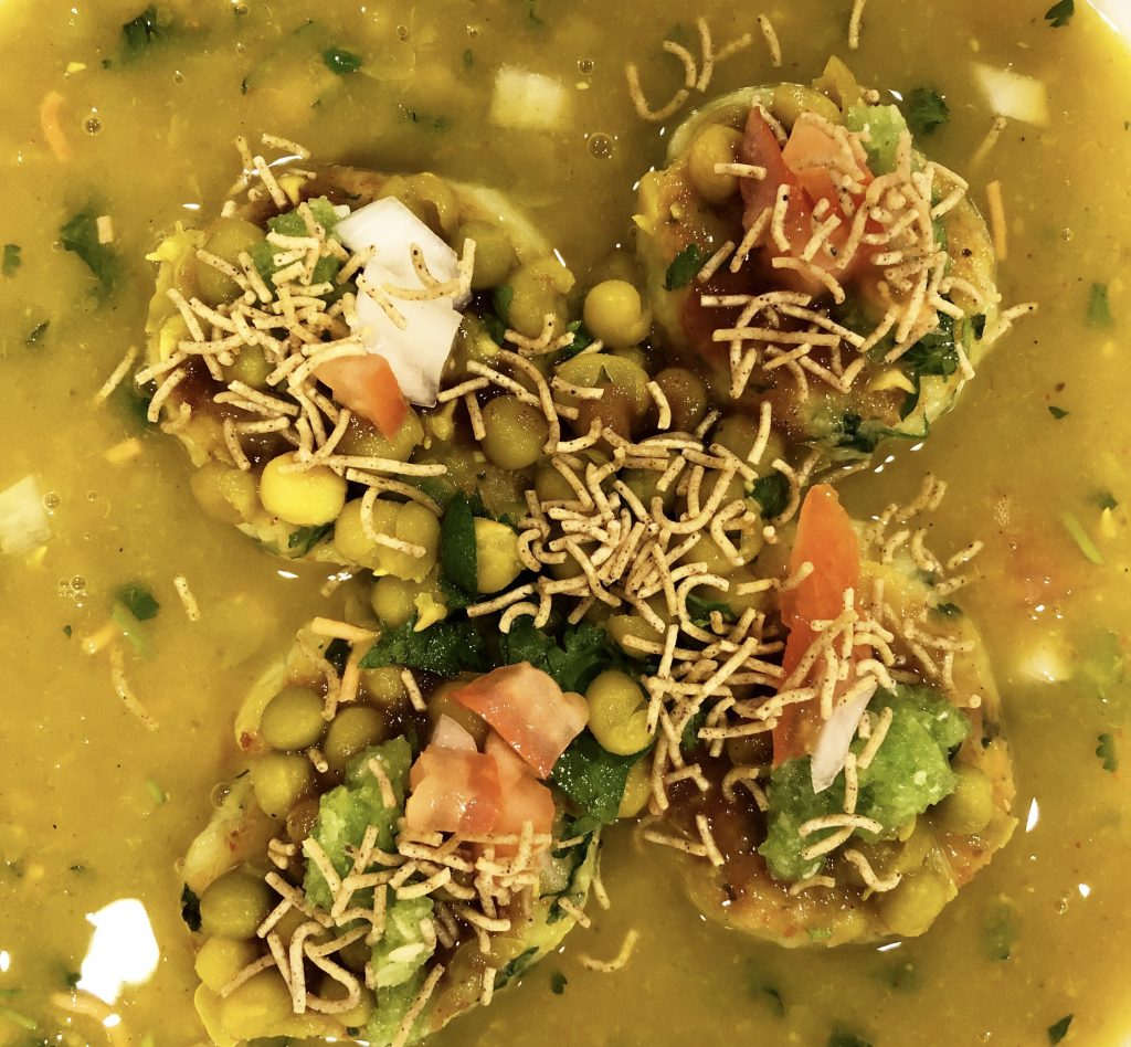 Ragda Pattice (Pea Soup) - The Curry Mommy