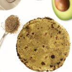 avocado roti healthy fiber rich roti with flax seeds