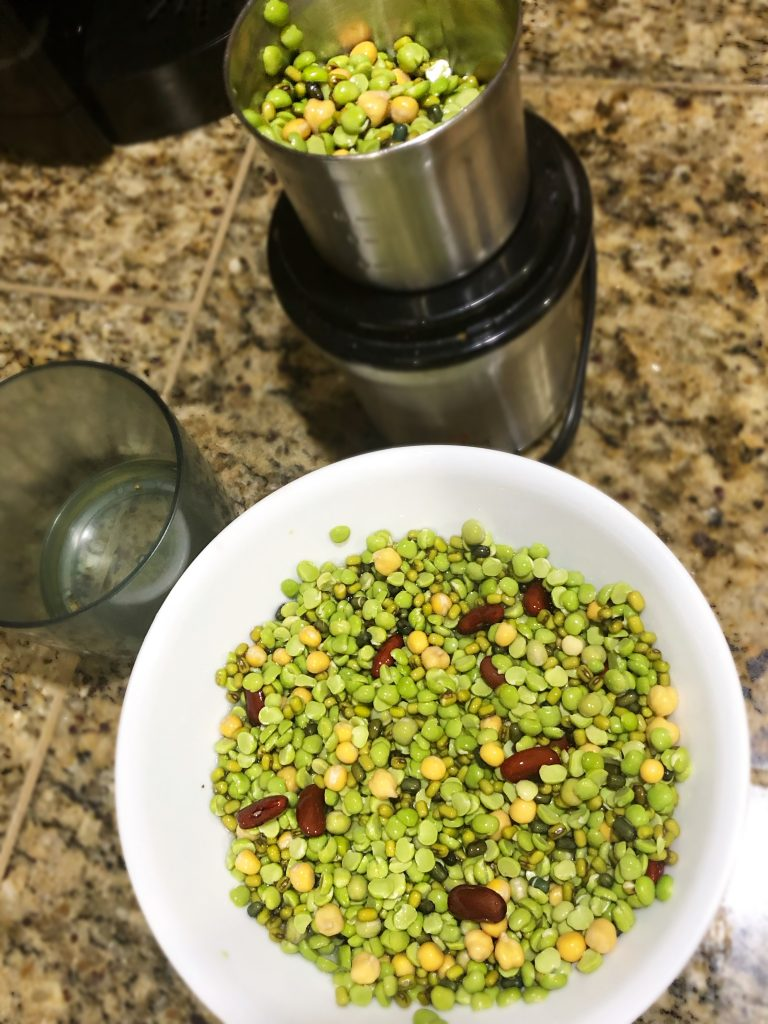 Falafel fritters by The Curry Mommy falafel wrap lentil based indian falafel