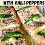 salmon with jalapeno and garlic