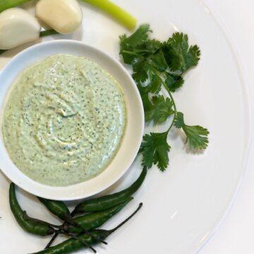 cilantro chutney