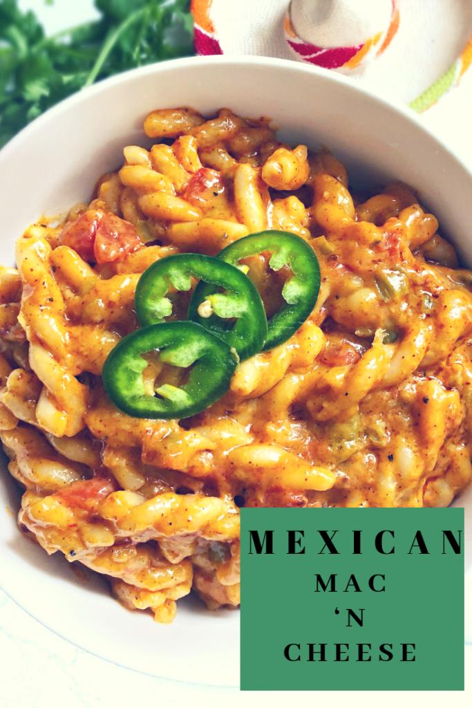 one pot mexican mac n cheese
