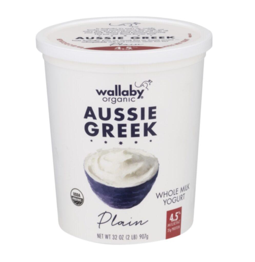 aussie greek yogurt by wallby for garlic labneh