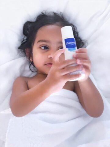 toddler skin care mustela