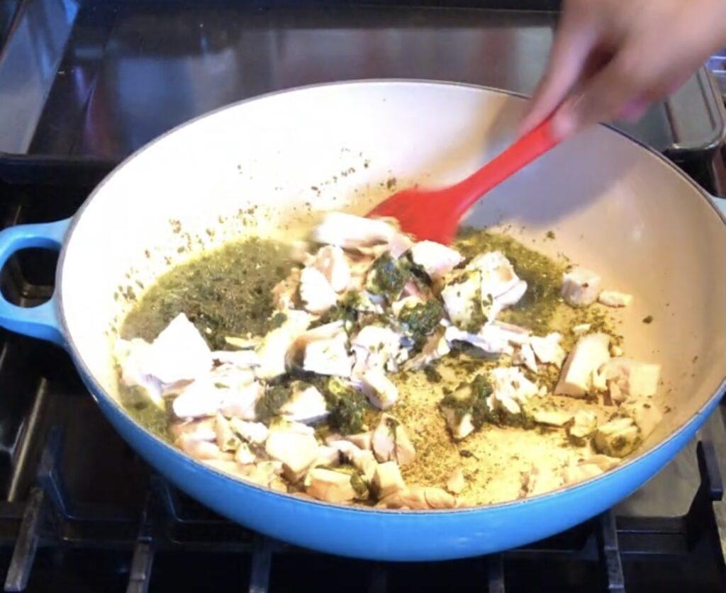 cooking rotisserie chicken
