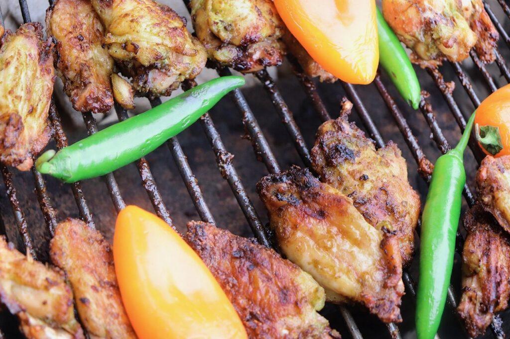 Mazola Cilantro Chicken Wings