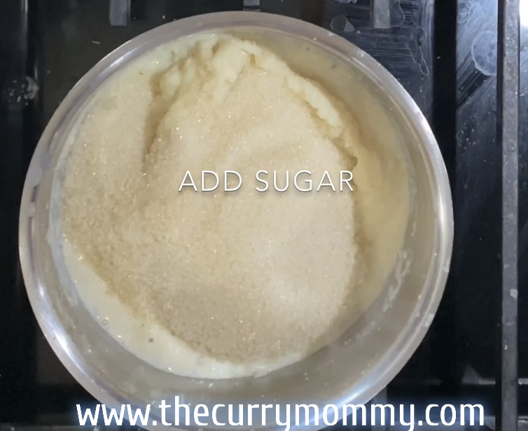 sugar added to sheera
