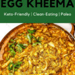 An Egg Kheema recipe created by recipe developer The Curry Mommy