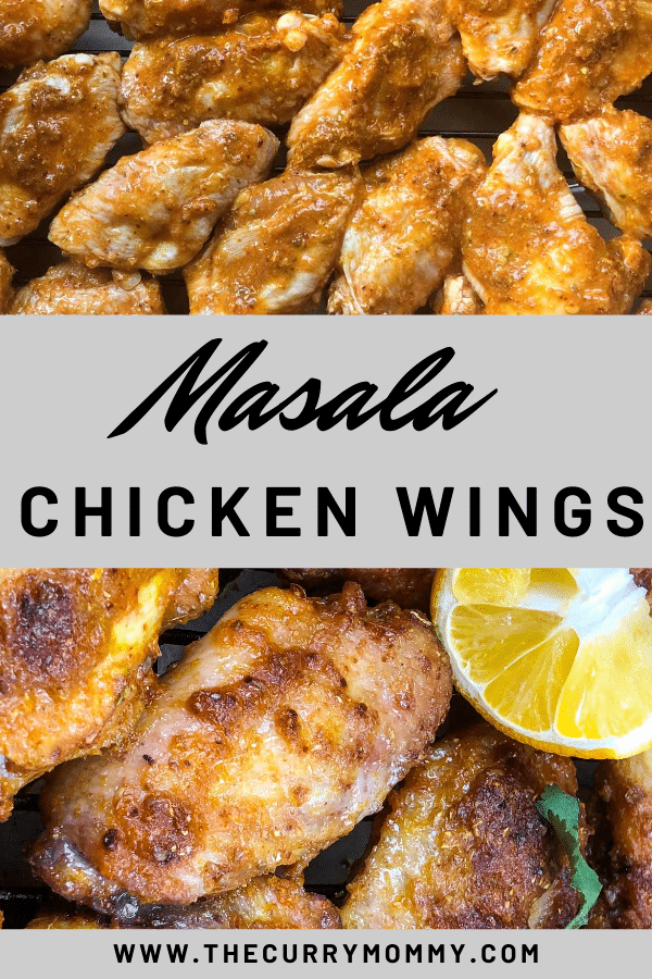 A Masala Chicken Wing recipe created by recipe developer The Curry Mommy