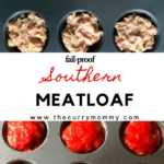 A fail proof and tasty meatloaf recipe created by recipe developer The Curry Mommy