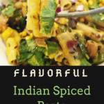 An Indian Pasta recipe created by recipe developer The Curry Mommy