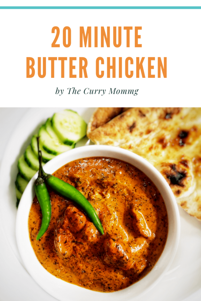A Butter Chicken recipe created by recipe developer The Curry Mommy