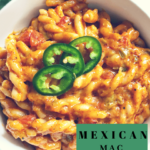 A Mexican Mac and Cheese recipe created by recipe developer The Curry Mommy