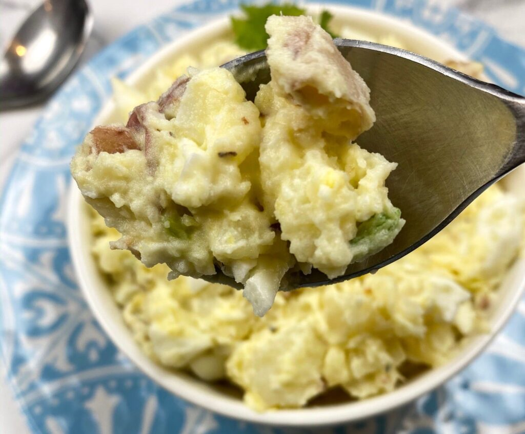 Potato Egg Salad Recipe by the Curry Mommy