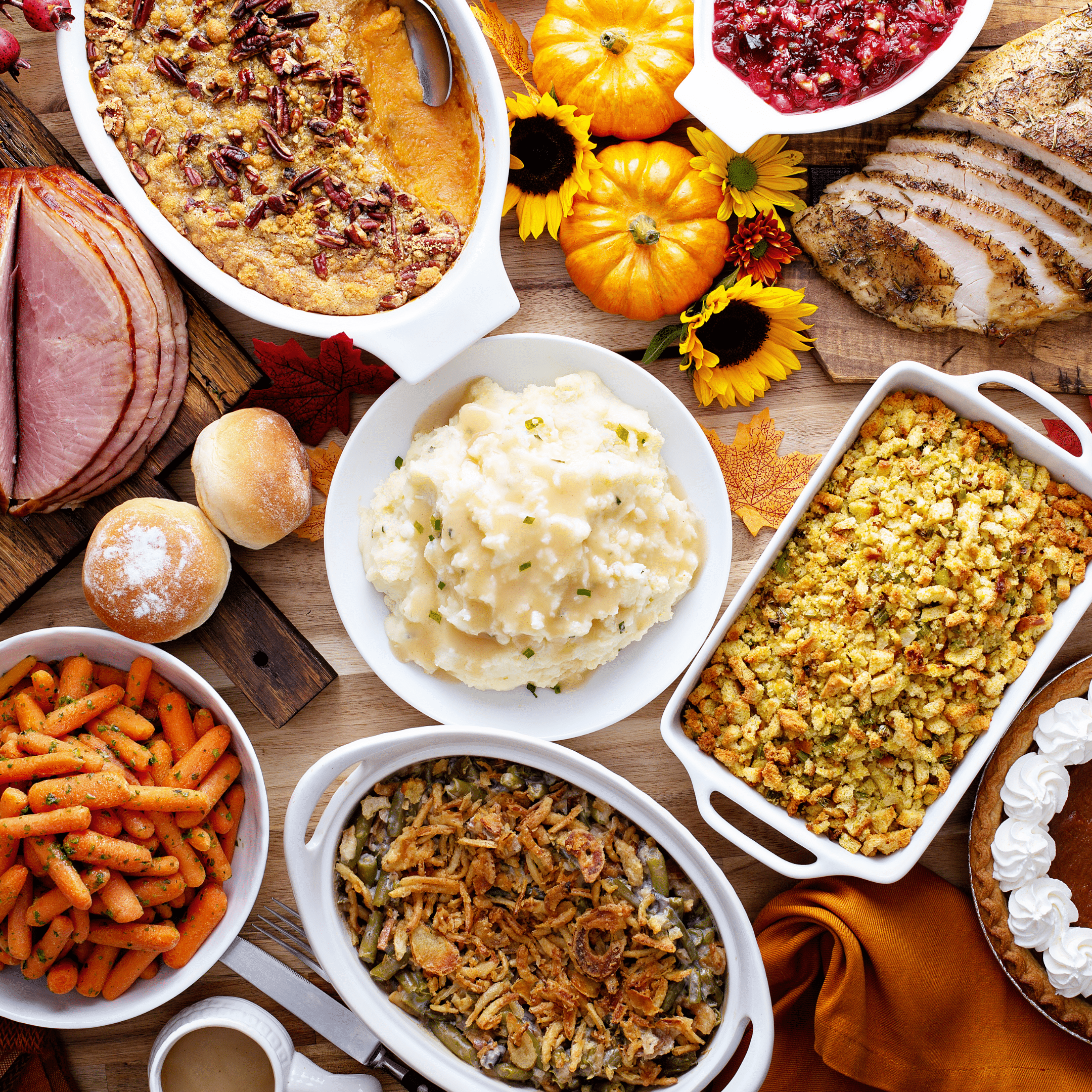Favorite thanksgiving recipes by indian food blogger