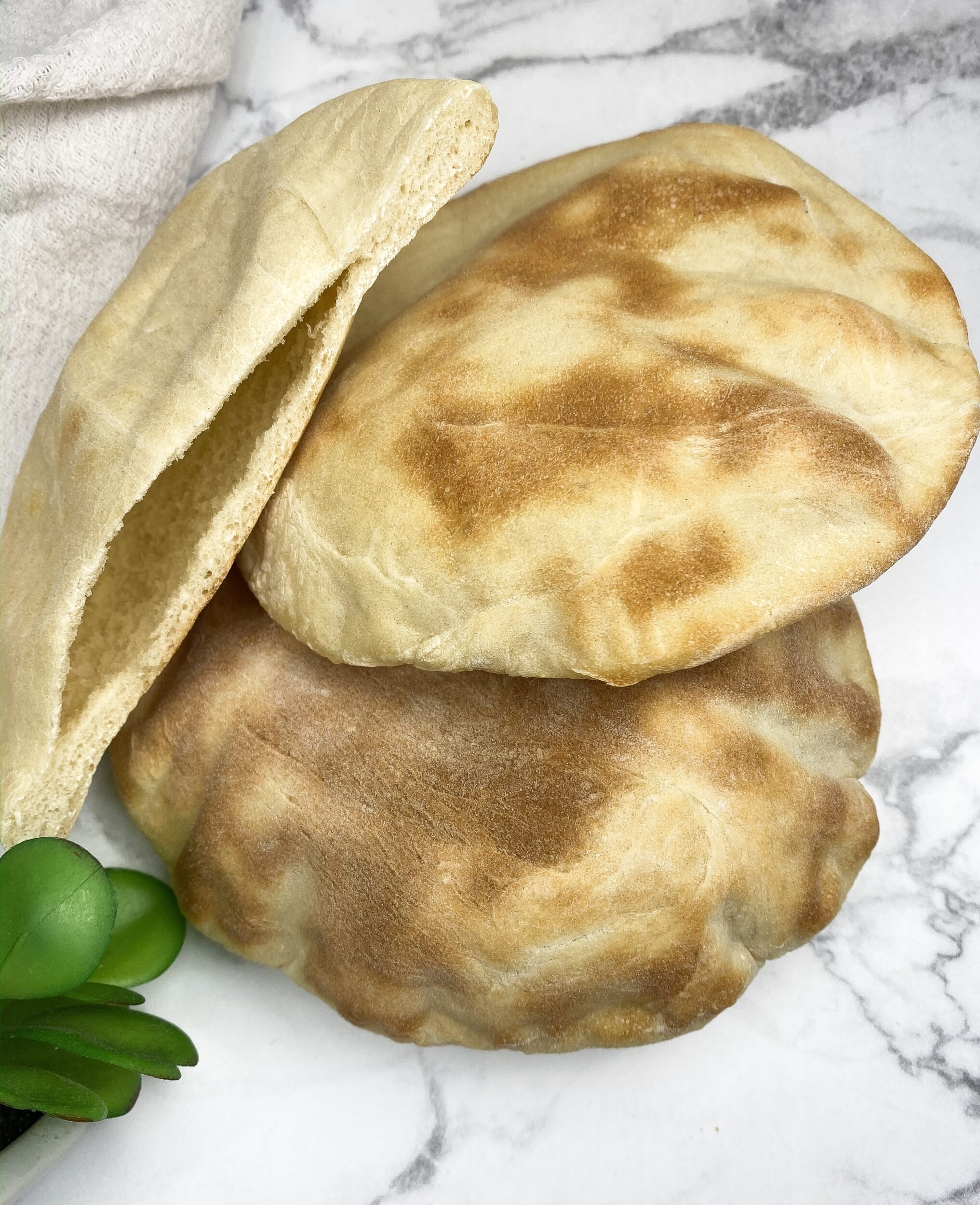 Easy Homemade Greek Pita Pocket Bread Recipe The Curry Mommy